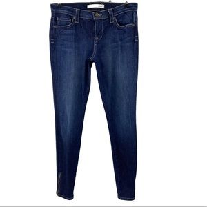 Freedom of Choice Zip Ankle Skinny Jeans Blue Sz 6